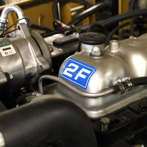 Decal - Engine 2F Valve Cover