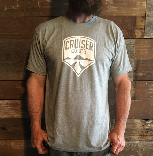 Cruiser Corps Shirt - Light Grey -  FJ40, FJ45, FJ55, FJ60, FJ62, FJ80, FJ CRUISER, BJ 1958-2009