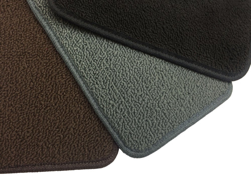 Floor Mat / Cargo - One Piece Rubber / Carpet - FJ60 1981-1987