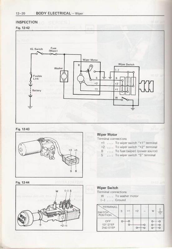 toyota wiring harness diagram for wipers schematic diagrams rh ogmconsulting co