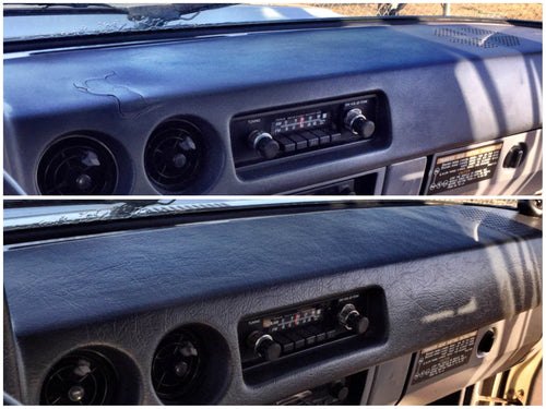 Before and After Dash Cap FJ60 Blue