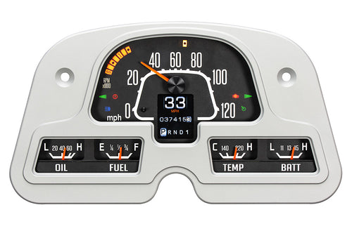 Dakota Digital Gauge Cluster - RTX Model FJ40, FJ45 1962-1984
