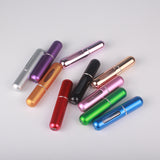 5ml Portable Aluminum Refillable Mini Perfume Spray Bottle
