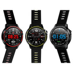 Metal IP68 Waterproof Full Touch Smartwatch