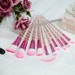 10pcs Unicorn Makeup Brush Set
