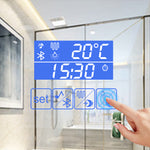 Smart Anti-fog LED Bathroom Mirror With Touch Screen & Bluetooth