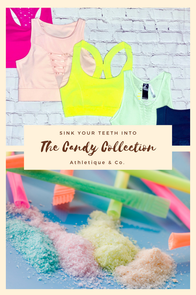 The Candy Collection: Sweetening the Color in Your Athleisure Style