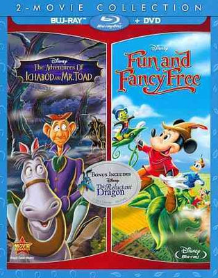 Adventures Of Ichabod & Mr. Toad/Fun & Fancy