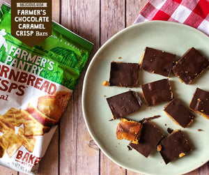 Farmer's Chocolate Caramel Crisp Bars Recipe