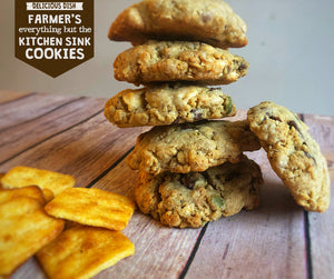 Farmer's Kitchen Sink Cookies