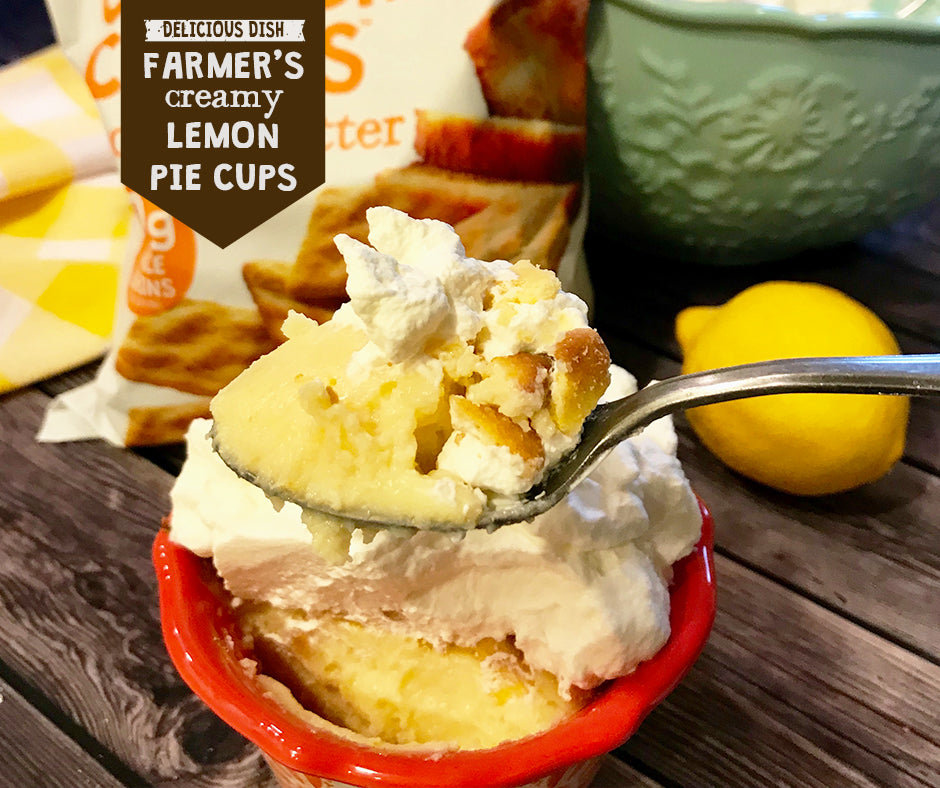 Farmer's Creamy Lemon Pie Cups