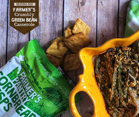 Farmer's Crumbly Green Bean Casserole