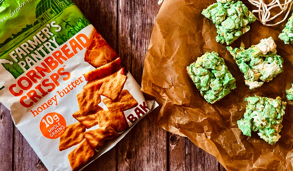 Farmer's Lucky Cornbread Crisps Treats