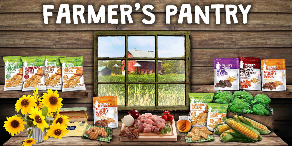 Farmer's Pantry Snacks for Hardworking Americans