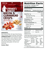 Farmer's Pantry Bacon & Cornbread Jerky Snacks Nutrition