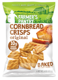 Original Cornbread Crisps. Hearty Snacks for Hardworking Americans.