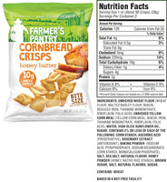 Farmer's Pantry Honey Butter Cornbread Crisps Nutrition