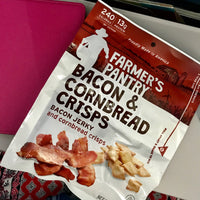 Bacon & Cornbread Jerky Snacks, 2 oz