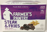 Farmer's Pantry Steak & Fries Jerky Snacks