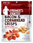 Farmer's Pantry Bacon & Cornbread Crisps Jerky Snacks
