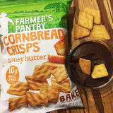 Honey Butter Cornbread Crisps, 6 oz (12 Pack)