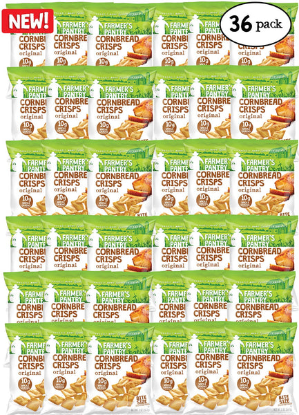 Original Bite Size Cornbread Crisps, 2 oz. (36 Pack)