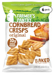 Original Cornbread Crisps, 6 oz (6 Pack)