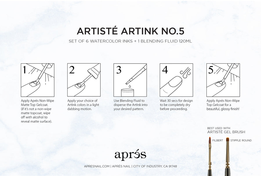 Artisté ArtInk Set No. 5