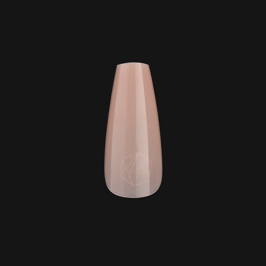 ArtMe x Aprés Gel-X Tips - Base Color - Natural Coffin Medium