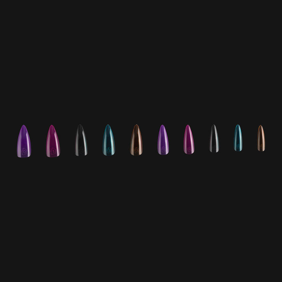 ArtMe x Apres Gel-X Tips - Vivid Color - Natural Stiletto Medium