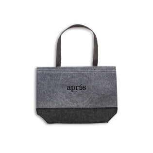 Aprés Grey Tote Bag