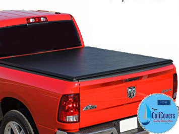 Tri-Fold Tonneau Cover For 2002-08 Dodge Ram 1500 2500 3500 6.5FT Bed