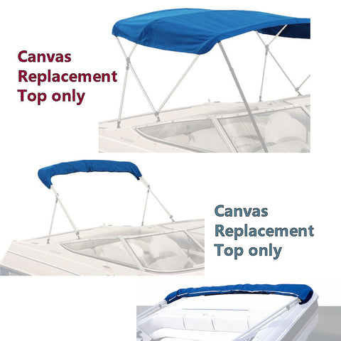 Bimini Covers Top with boot 72 inch - 78 inch