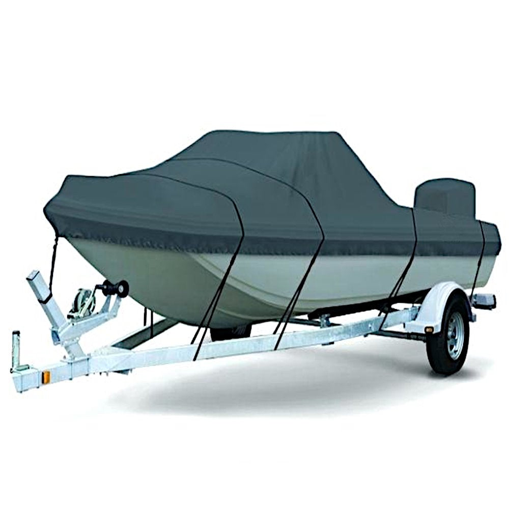 15 FT Tri Hull Boat Cover