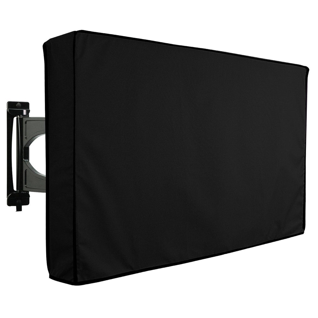 Television Cover for outside Fixed or Flat Mounts