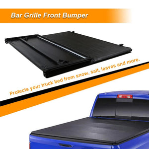 Tri-Fold Tonneau Cover For Ford F-150 8' Long Bed Only 2009 2010 2011 2012 2013 2014 -2018