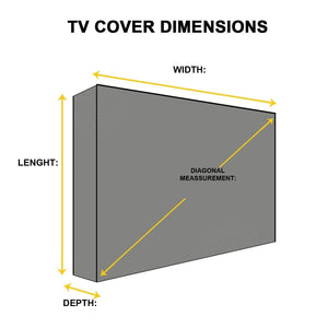 TV Cover 55 Inch