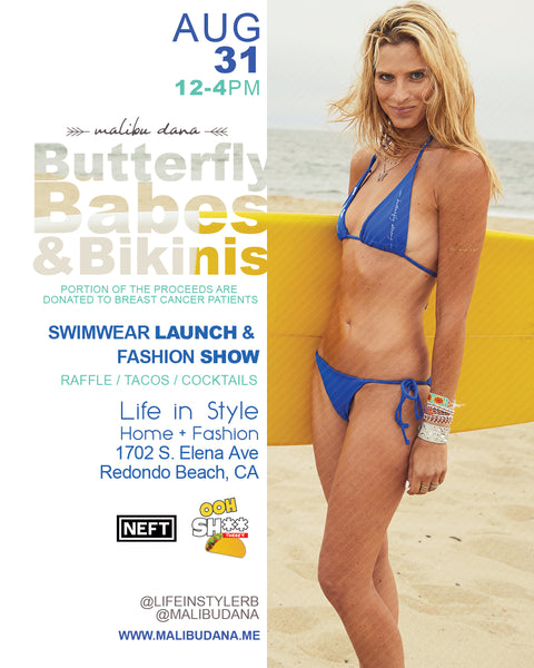August 31st 12-4PM // Butterfly Babes & Bikinis @ Life in Style