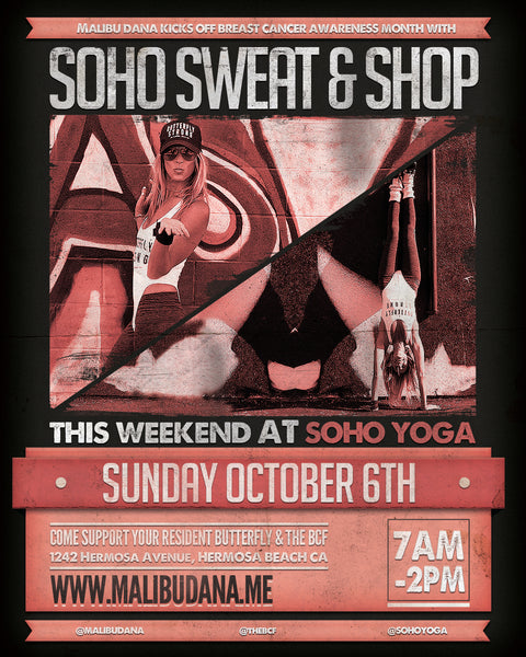 Sunday October 6th // Soho Sweat & Shop - Breast Cancer Awareness Month Event
