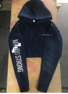 Malibu Strong Cropped Hoodie