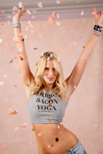 Load image into Gallery viewer, LNG x MD Bourbon Bacon Yoga Reversible Tank - Light Gray