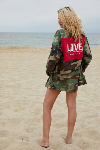 LNG x MD LOVE Camo Jacket