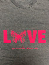 Load image into Gallery viewer, Limited Edition Butterfly LOVE // Boyfriend Tee