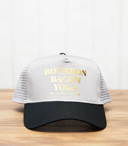 Unisex Bourbon Bacon Yoga Hat