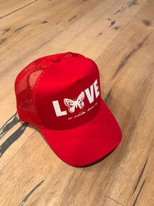Red Butterfly Love // Trucker Hat