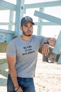 Men's Blame it on Bourbon Tee
