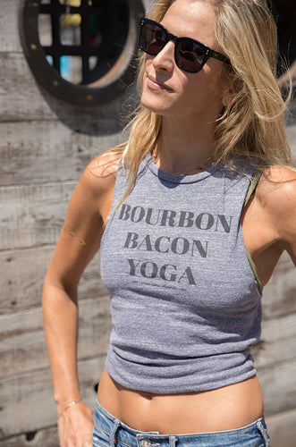 Bourbon Bacon Yoga Muscle Tank