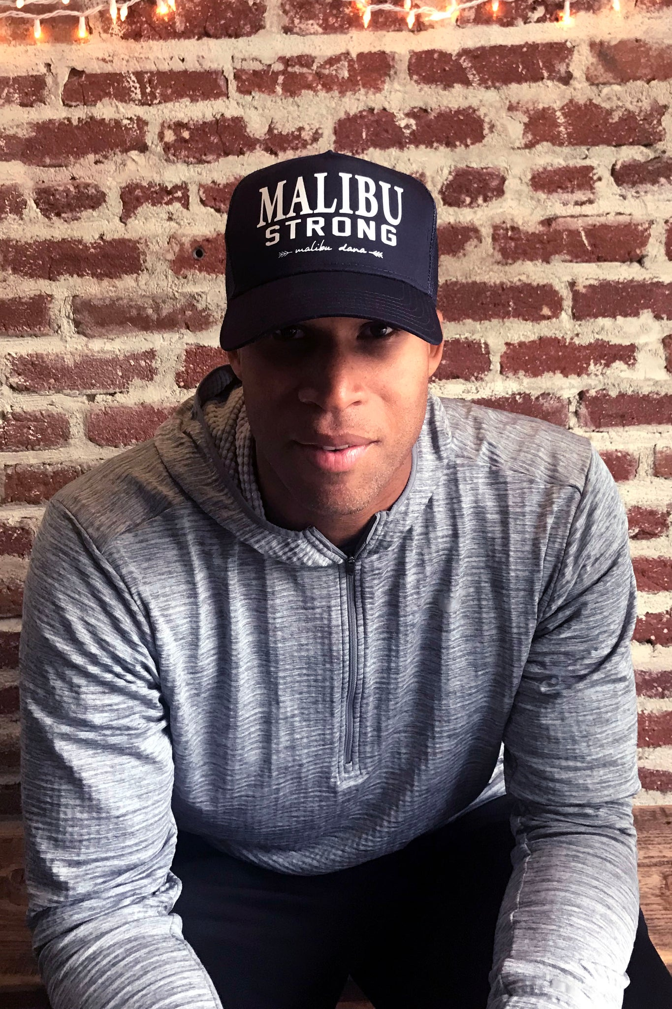 ae3b643e98a42 ... Load image into Gallery viewer, Malibu Strong Unisex Trucker Hat ...