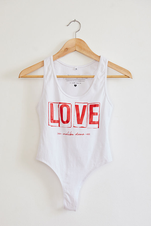 LOVE // Bodysuit