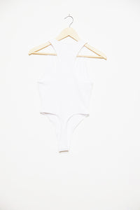 Butterfly Strong Bodysuit - White